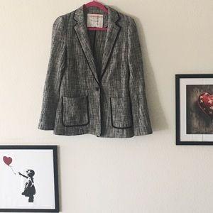 Anthropologie Cartonnier Tweed Blazer